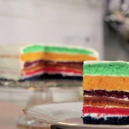Rikes Backschule, Rike Dittloff, Regenbogenkuchen