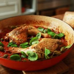 Einfach lecker, Anne Lucas, italienische Hähnchenkeulen