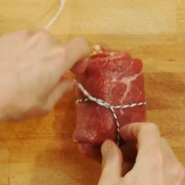 Kochschule: Rouladen binden
