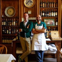 Paolo-Gori-und-Michele-Wolken-Trattoria-Da-Burde-kulinarische-Reise-Florenz