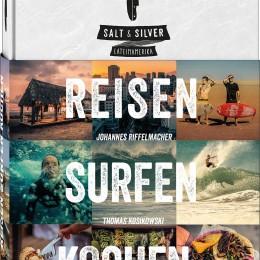 Buchcover, Salt and Silver, Reisen, Surfen, Kochen