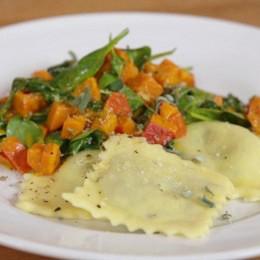 Vegane Ravioli mit Herbstgemüse von Nicole Just