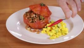 Just vegan, Nicole Just, Tempeh-Tomate