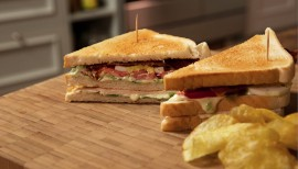Einfach lecker: New York Clubsandwich