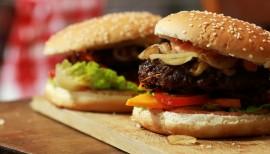 Einfach lecker: exotischer Burger