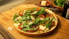 Einfach lecker: Fladenbrotpizza