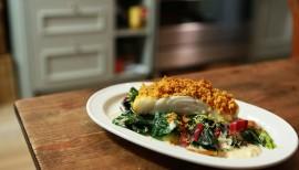 Einfach lecker: Fisch mit Curry-Kräckerkruste