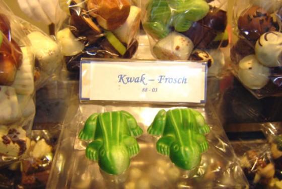 Frosch-Pralinen