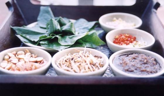 Thailändische Vorspeise