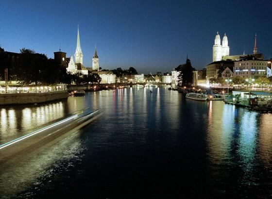 Zürich hat bei Nacht viel zu bieten
