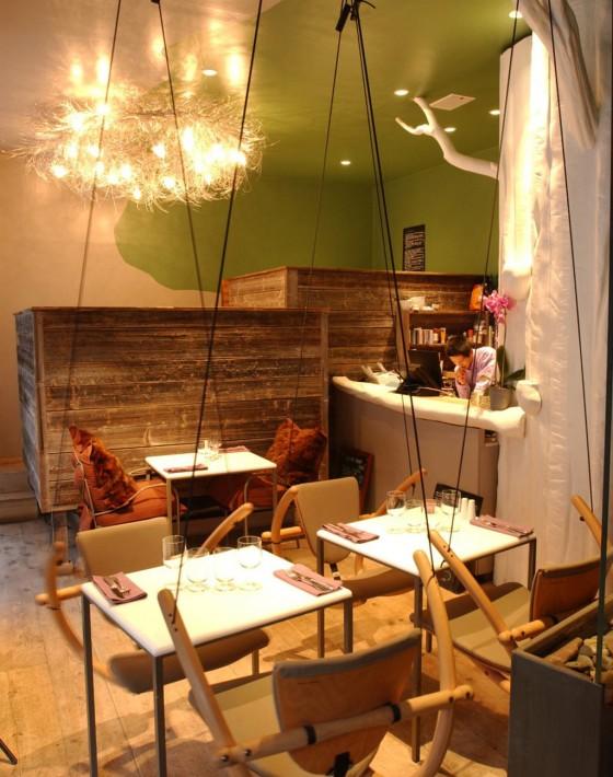 Dieses kleine restaurant ist eine Oase im Großstadtdschungel.geboten wird eine kreative, nachhaltige Küche mit viel Gemüse und Fisch. Zur Entspannung können sich die Gäste eine Shiatsu-Massage gönnen.