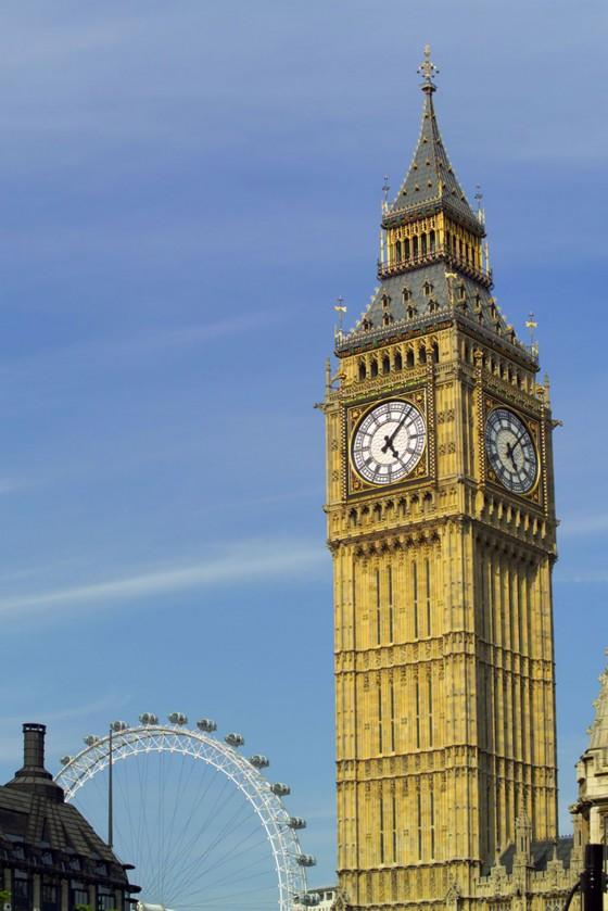Der Big Ben dominiert die Stadt London und sollte ebenfalls auf Ihrer Liste stehen, die Sie sich anschauen wollen.