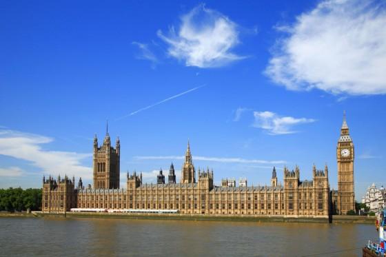 Im Westminster Parliament tagt das britiche Parlament.