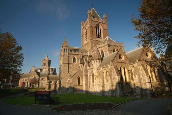 Die Christ Church Cathedral von Dublin.