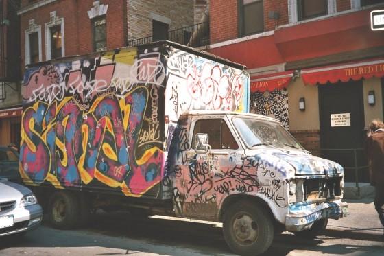 Auto in Greenwich Village