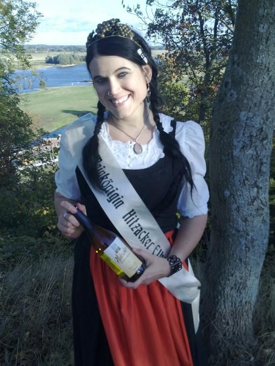 Weinkönigin Hitzacker