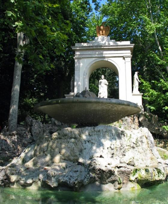 Park der Villa Borghese
