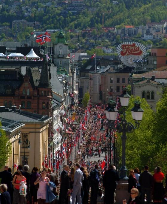 Nationalfeiertag in Oslo