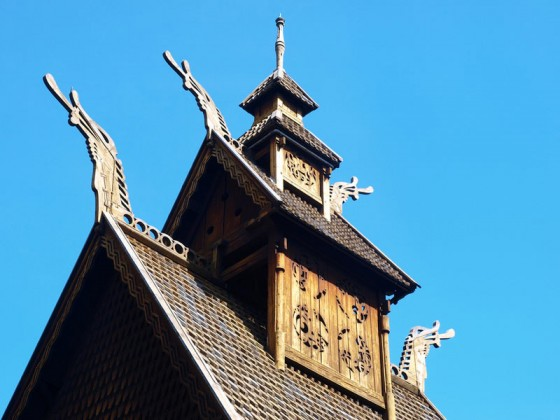 Stave Kirche in Oslo