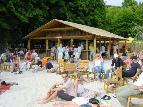 Seaside Beach Baldeney Essen
