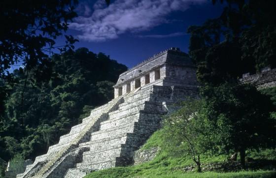 Templo De Las Inscripciones in Palenque/Chiapas