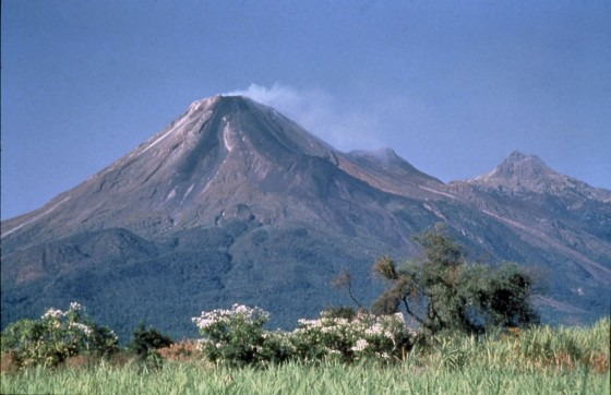 Vulkan de Colima im Nationalpark
