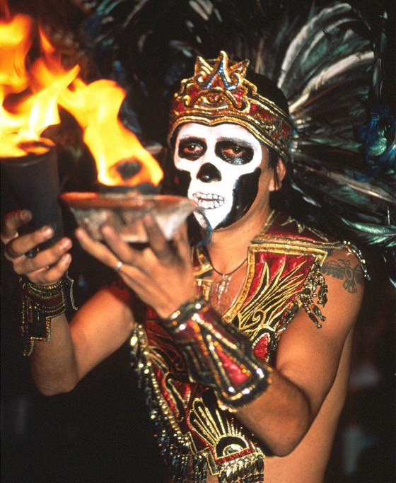 Tag der Toten in Mochoacan