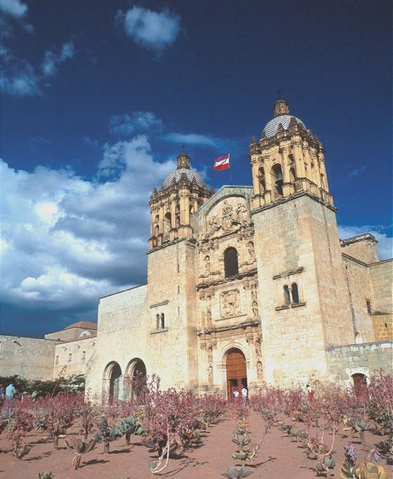 Die Kirche Santo Domingo in Oaxaca