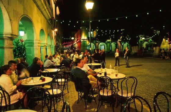 Nachtleben in Oaxaca