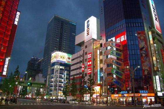 Akihabara in Tokio