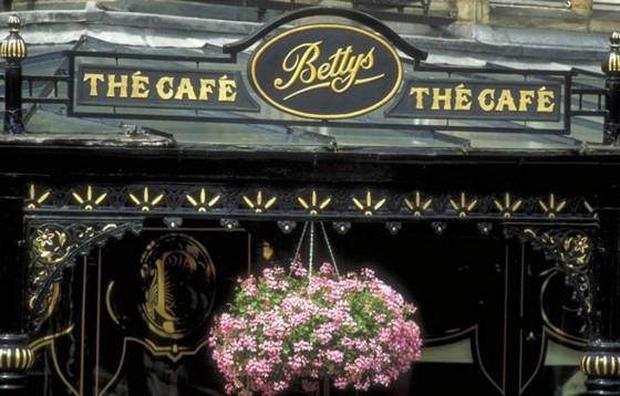 Betty's Tea Room in Harrogate, North Yorkshire.