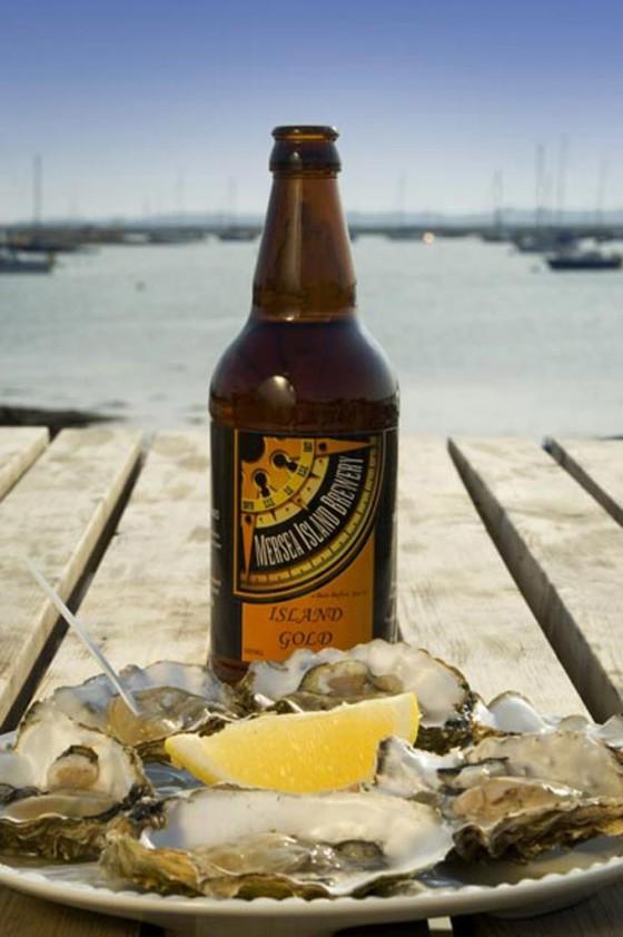 Mersea Island Gold beer