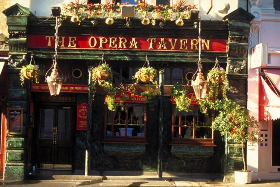 The Opera Tavern in Covent Garden