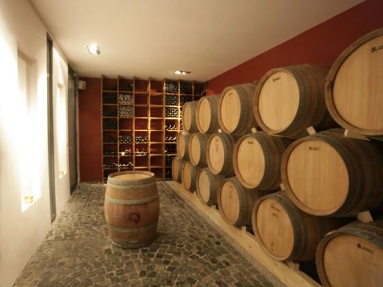 Barriwue-Keller des Weinguts Kühling-Gillot