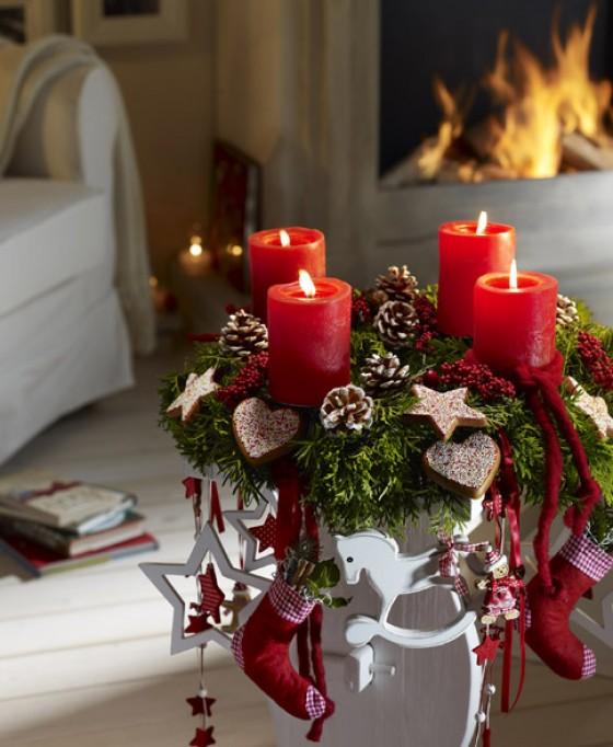 prachtvoll gedeckter tisch weihnachtliche deko und. Black Bedroom Furniture Sets. Home Design Ideas
