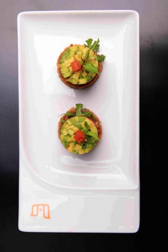 Crostini mit Avocado