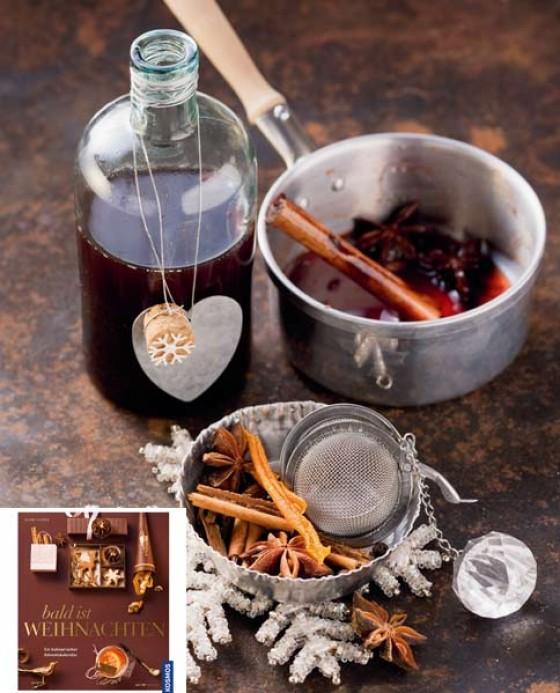 Glühweinsirup, fein würzig mit Nelken, Piment und Sternanis.