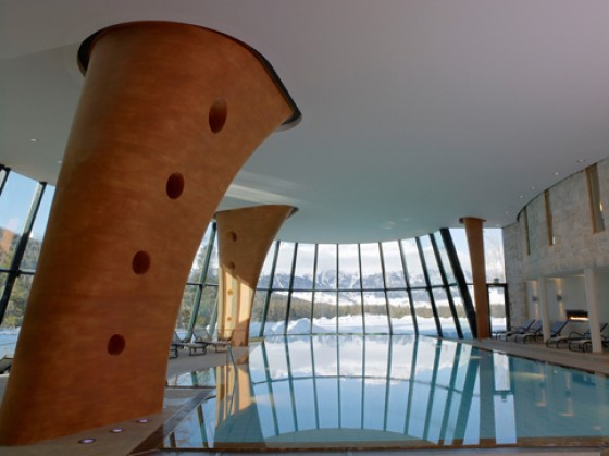 Pool im Grand Hotel Kronenhof