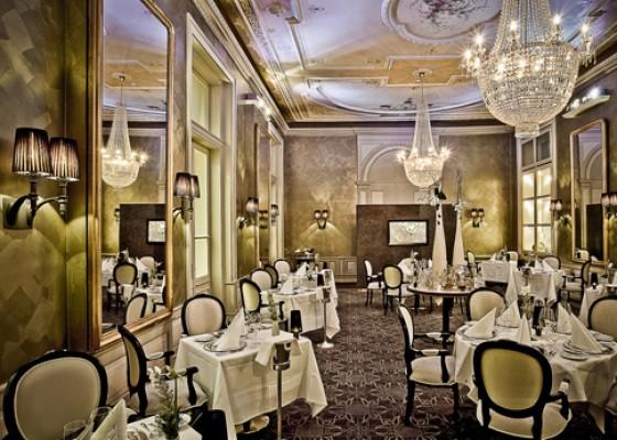 Restaurant Cà d'Oro im Kempinski Grand Hotel