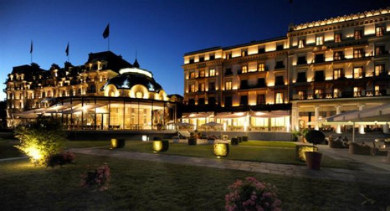 Beau Rivage Palace Hotel in Lausanne