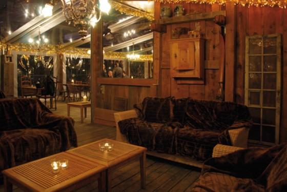 Fondue im Restaurant Schwellenmätteli