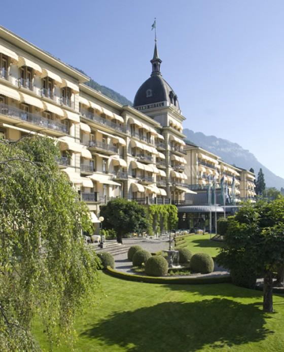 Victoria Jungfrau Grand Hotel & Spa in Interlaken