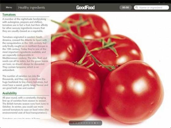 Good Food App Warenkunde