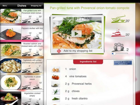 Cookineo App