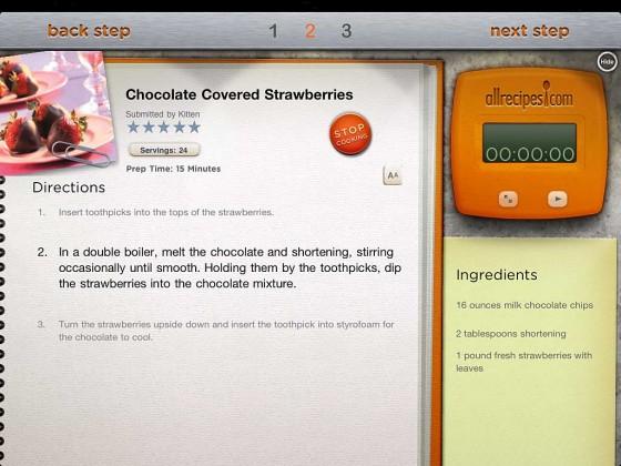all recipes App Rezept