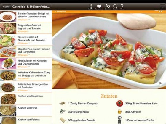Kochen App Rezept