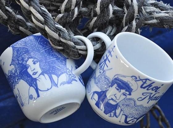 Maritimes Paar: Lona und Piet