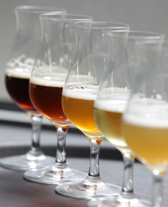 Verkostungsgläser Bier
