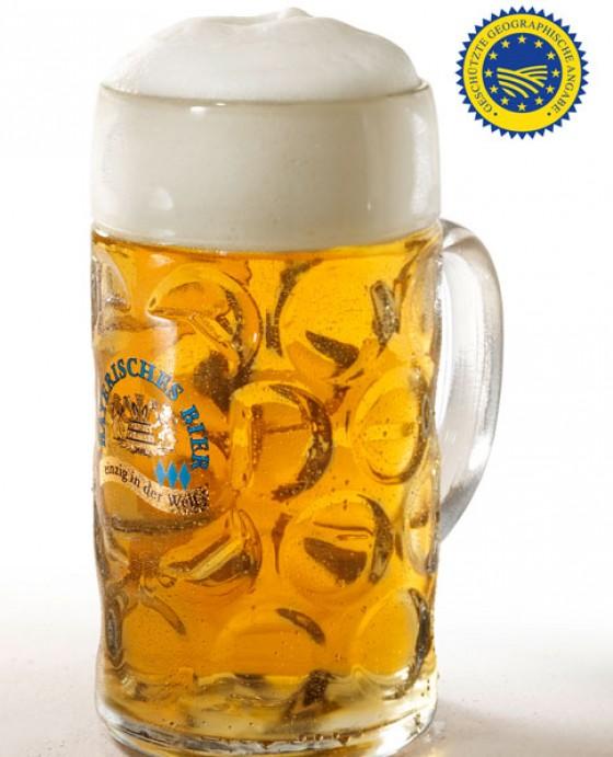 Masskrug Bier