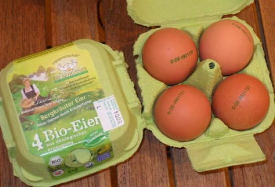 Bergkräuter Eier